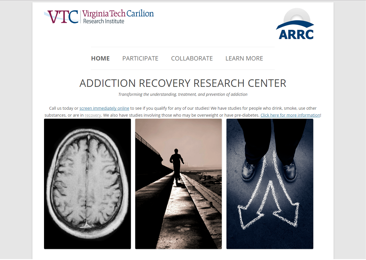 VTC Addiction Recovery Research Center