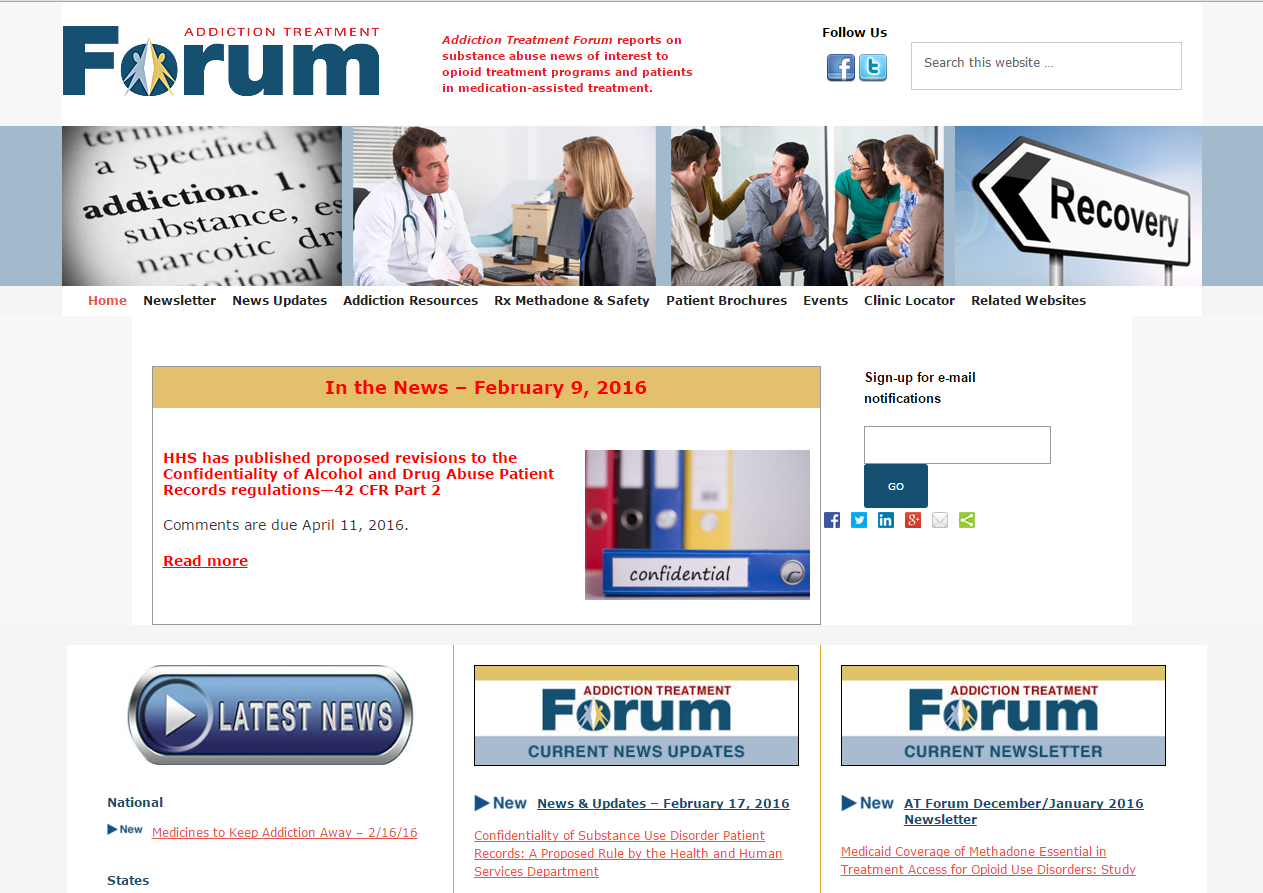Addiction Treatment Forum