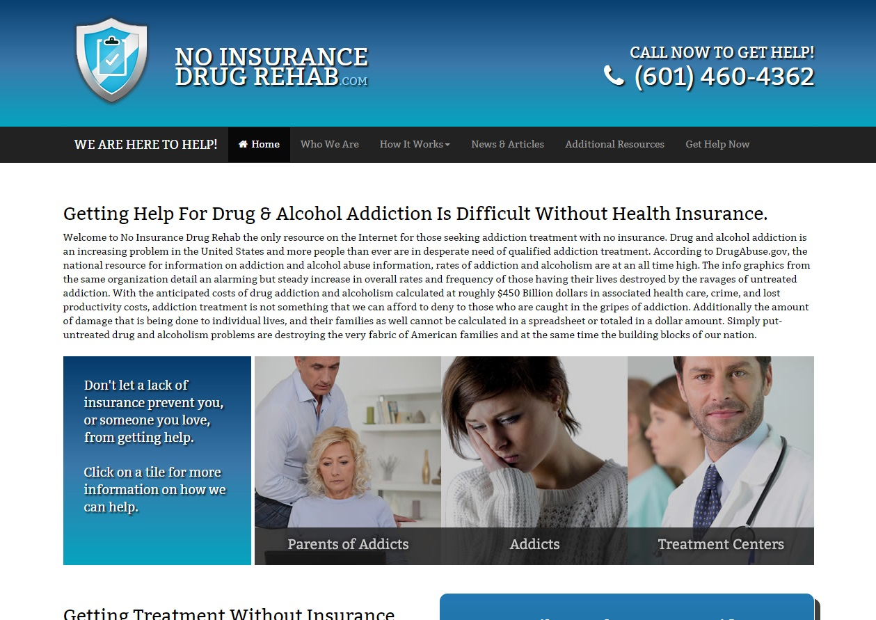 No Insurance Drug Rehab