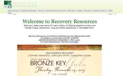 Recovery Resources