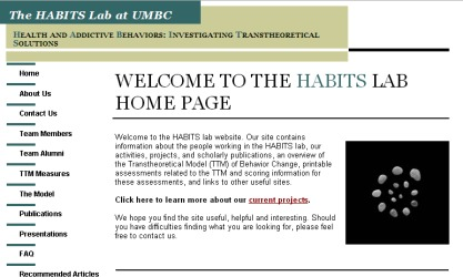 The Habits Lab at UMBC