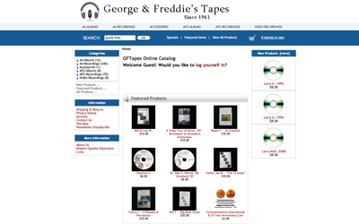 George and Freddie's Tapes