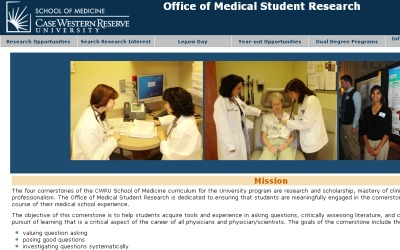 CWRU Office of Medical Student Research