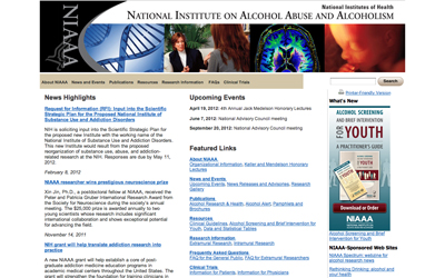 National Institute of Alcohol Abuse and Alcoholism (NIAAA)
