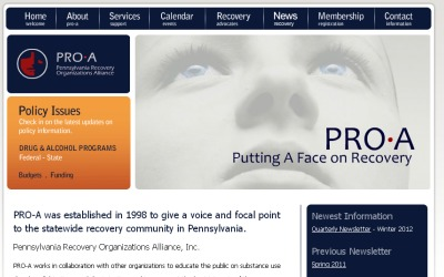 Pennsylvania Recovery Organization Alliance (PRO-A)