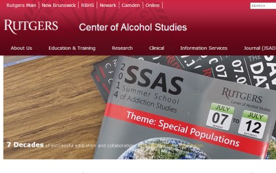 Rutgers Center of Alcohol Studies