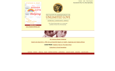 The Institute for Research on Unlimited Love